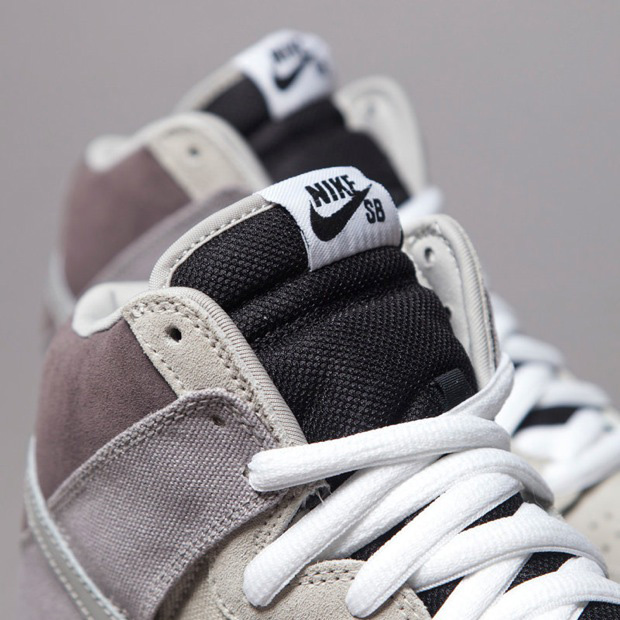 2825fdc1328c Nike SB Dunk High Medium Grey. Part ...
