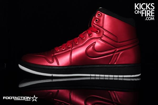 Air Jordan 1 Armour Cranberry + Metallic Silver. Air ... a524cd1aaa